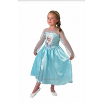 Disfraz Elsa Frozen Deluxe Varios Talles Importado