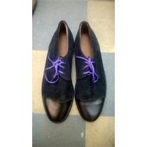 Zapatos De Hombre De Cuero Realizados Artesanalmente
