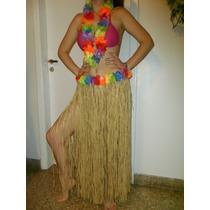 Pollera De Hawaiana Disfraz