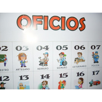 Laminas Y Carteles Oficios Para Quiniela