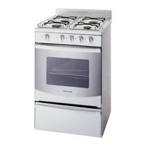 Cocina Volcan 88644v Horno Autolimpiante 4 Horn 55cm Blanca