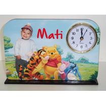 Reloj Souvenirs Personalizado Con Foto Y Nombre(10 Unidades)