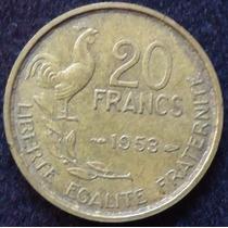Francia - 20 Francos Año 1953..................... Blamanan