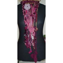 Collares-bufandas Artesanales Crochet Cuellos