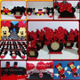 Cotillon Golosineros De Mickey Mouse Minnie En Goma Eva