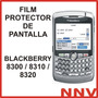 Film Protector De Pantalla Blackberry Bb 8300 8310 8320 8330