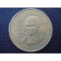 México - Moneda De 1000 Pesos, Año 1988 - Muy Bueno