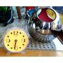 Lindo Reloj Fluo Diseño Retro Vintage Naranja Scioli Hay Otr