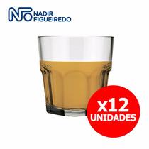 Vaso Vidrio Whisky Bebidas Licores - Nadir - X12 Unidades