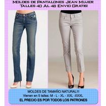 Moldes Imprimibles De Jean Y Shorts + Yapa Aprenda Bisuteria