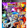 Dragon Ball Z Battle Of Z Ps3 Nuevo Sellado Original