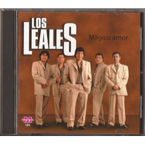 Los Leales Cd Magico Amor Cd Original Nuevo Cumbia