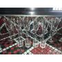Juego De 12 Copas Con Bisel Y 4 Vasos Chicos De Trago