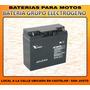 Bateria Grupo Electrogeno Gel 12v 17ah