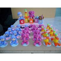 Souvenirs Infantiles Pocoyo En Porcelana Fría!