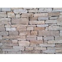Oferta Revestimiento De Piedra Muro De Travertino!