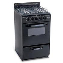 Cocina Martiri New Lujo Black 4 Hornallas, 51 Cm 4 Hornallas