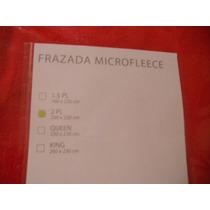 Frazada Microfleece 2 Plazas (2x2,3)