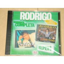 Rodrigo Discografia Completa Vol 1, 2 Cd Nuevo Sellado