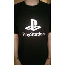 Remeras Play Station Joystick Gamers Logos Y Juegos