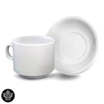 12 Tazas De Te Con Plato Porcelana Tsuji Línea 450