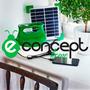 Lampara Inalambrico Recargable Solar Cargador Cel Schneider