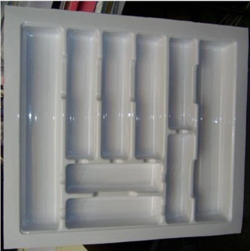 Cubiertero Organizador Para Cajon Cocina Blanco Max 48 X