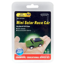 Mini Auto Solar Kit Para Armar No Requiere Bateria