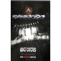 Sabroso Autentico En Vivo Cd + Dvd Disponible El 16/07/15