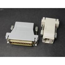 Adaptadores De Cable Serie Rs232 A Cable Utp Rj45 Db9 Y Db25