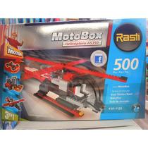 Rasti Motobox Helicoptero 500 -para Armar Vehiculo Con Motor
