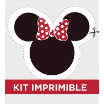 Kit Imprimible Minnie Golosinas Souvenirs Cumple