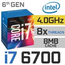 Procesador Intel Core I7 6700 4.0 Ghz Lga 1151 6ta Pc Conect