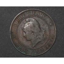 Moneda 1 Centavo De Patacon Cobre 1885