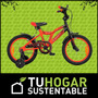 Bicicleta Aurora Spider Rodado 16 Para Niños De 3 A 5 Años