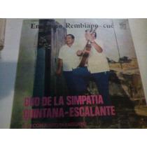 Quintana Escalante Duo De La Simpatia En Vinilo