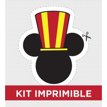 Kit Imprimible Mickey Cumple Golosinas Souvenirs