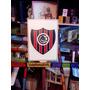 Cuadro. Escudo De Futbol, Chacarita Juniors Madera C/relieve