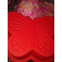Molde De Silicona Mini Torta Mariposa