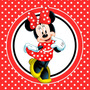 Kit Imprimible Minnie Roja Candy Bar Invitaciones Decoracion