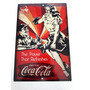Gaseosa Coca Cola Cartel Chapa Cuadro Decorativo Publicidad