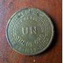 Peru Un Sol De Oro 1957 Moneda En La Plata Fraganplat Tolos