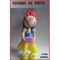 Blanca Nieves Princesa Disney Adorno Torta En Porcelana Fría