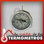 Termometro De Acero Inoxidable Para Horno Pizzero Winters
