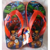 Ojotas Para Niños Advengers De Marvel - Imperdibles!!!
