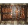 Cuadro De Cobre Egipcio De Hathor Y Anubis