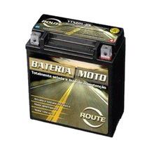 Bateria Route Ytx5l-bs De Gel Honda Cg Titan 150/125 Xr 125
