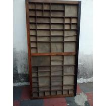 Cajones De Imprenta Antiguos