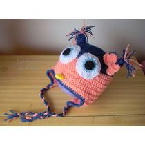 Gorros Para Niños Tejidos En Crochet - Lana Y Algodón