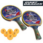 Paletas (dos) Ping Pong 5 Estrellas+ Seis Pelotitas, Combo